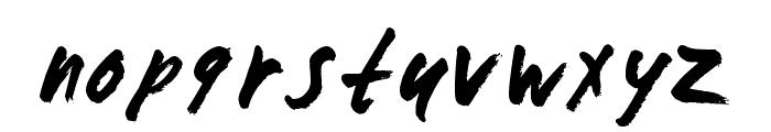 ZombieChecklist Font LOWERCASE