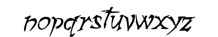 ZombieGirlfriend Font LOWERCASE