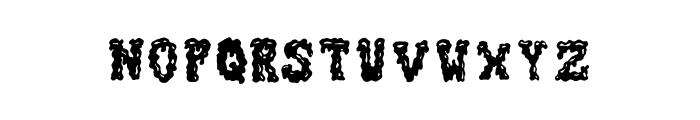 ZombieGuts Font UPPERCASE