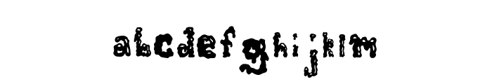 ZombieGuts Font LOWERCASE