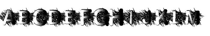 ZombieScratch Font UPPERCASE
