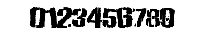 ZombieState Font OTHER CHARS