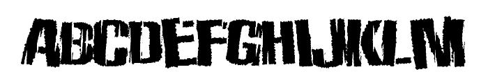 ZombieState Font UPPERCASE