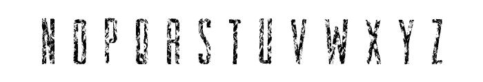 ZombieStory Font LOWERCASE