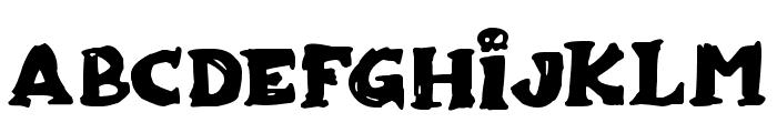 Zombiebites Font LOWERCASE