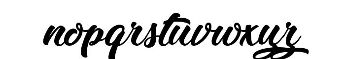 Zomtam Thai Font LOWERCASE