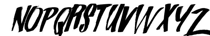 Zondas Font UPPERCASE