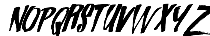 Zondas Font LOWERCASE