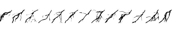 Zone23_Lightning Font UPPERCASE