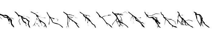 Zone23_Lightning Font LOWERCASE