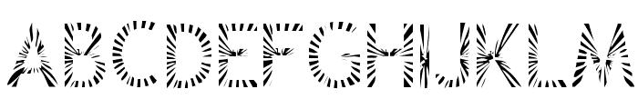 Zone23_Rayz Font UPPERCASE