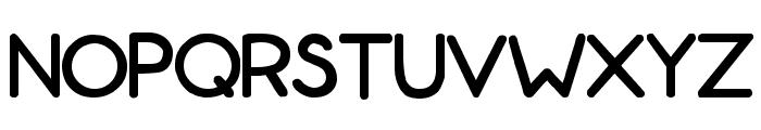 ZonoToon  Bold Font UPPERCASE