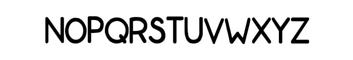 ZonoToon  Bold Font LOWERCASE