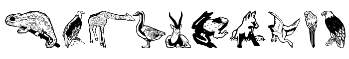 Zoobats Font OTHER CHARS