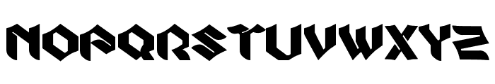 Zook Font LOWERCASE