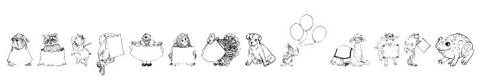 Zooland Font LOWERCASE
