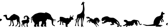 Zoologic Font UPPERCASE