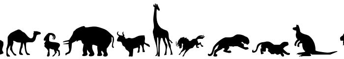 Zoologic Font LOWERCASE