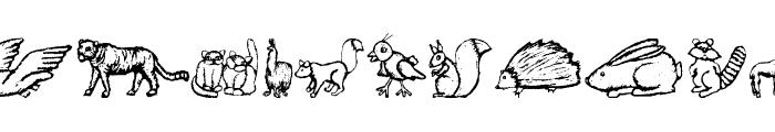 ZoologicalGardenThree Font UPPERCASE