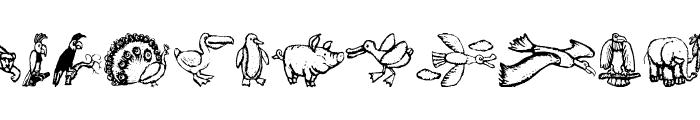 ZoologicalGardenThree Font LOWERCASE