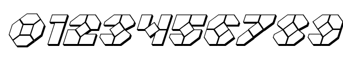 Zoom Runner 3D Italic Font OTHER CHARS