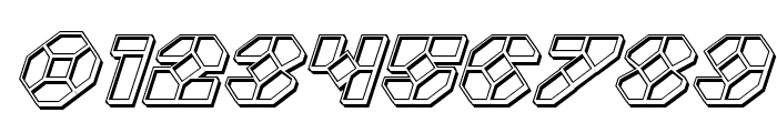 Zoom Runner Engraved Italic Font OTHER CHARS