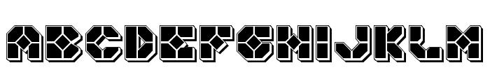 Zoom Runner Punch Font LOWERCASE