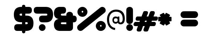 Zorque-Regular Font OTHER CHARS