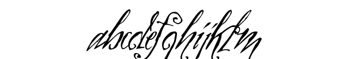 Zothique Demo Font LOWERCASE