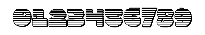 Zounderkite Chrome Font OTHER CHARS