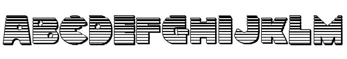 Zounderkite Chrome Font LOWERCASE