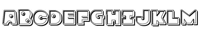 Zounderkite Engraved Font UPPERCASE