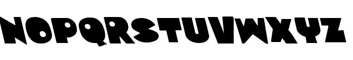 Zounderkite Leftalic Font LOWERCASE