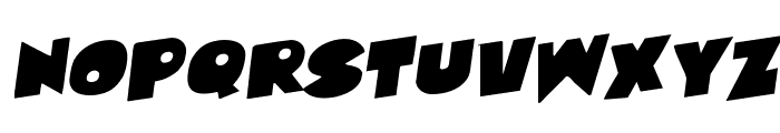 Zounderkite Rotalic Font UPPERCASE