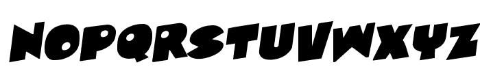 Zounderkite Rotalic Font LOWERCASE