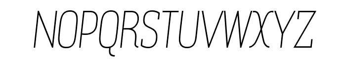 Zowieyo? Italic Font UPPERCASE