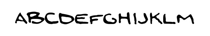 zoi_mao Font LOWERCASE