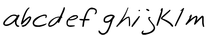 zombieCat Font LOWERCASE