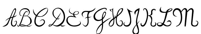 zou70s Font UPPERCASE