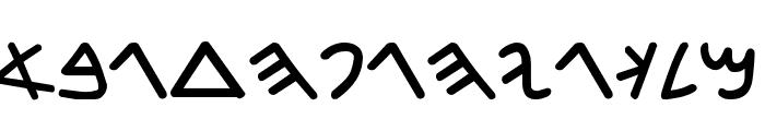 zozo Font LOWERCASE