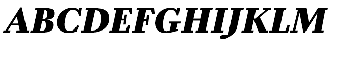 Zocalo Banner Black Italic Font UPPERCASE