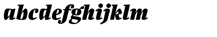 Zocalo Banner Black Italic Font LOWERCASE