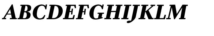 Zocalo Banner Bold Italic Font UPPERCASE