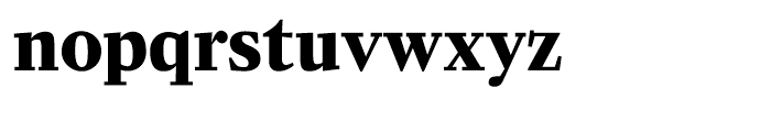 Zocalo Banner Bold Font LOWERCASE