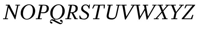 Zocalo Banner Regular Italic Font UPPERCASE