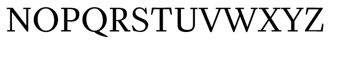 Zocalo Banner Regular Font UPPERCASE