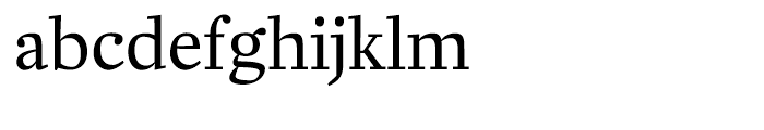 Zocalo Banner Regular Font LOWERCASE