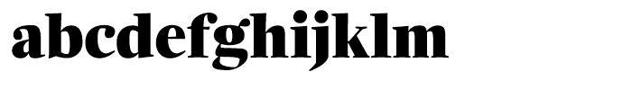 Zocalo Display Black Font LOWERCASE