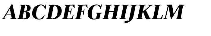 Zocalo Display Bold Italic Font UPPERCASE