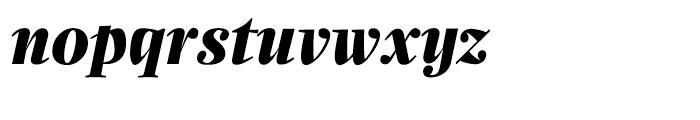 Zocalo Display Bold Italic Font LOWERCASE